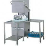 Upright 'pass-thru' Dish washers