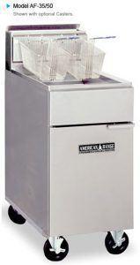 Commercial Deep Fryer Hire (American Range AF-45)